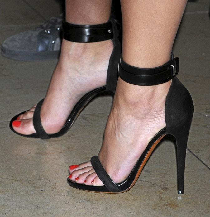Chaussure A Talon Bride Cheville