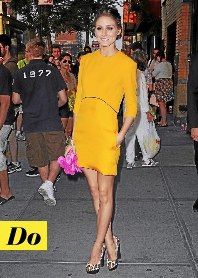 Que mettre comme chaussure avec une robe jaune