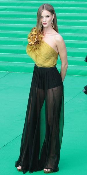 jupe longue noire transparente 2012