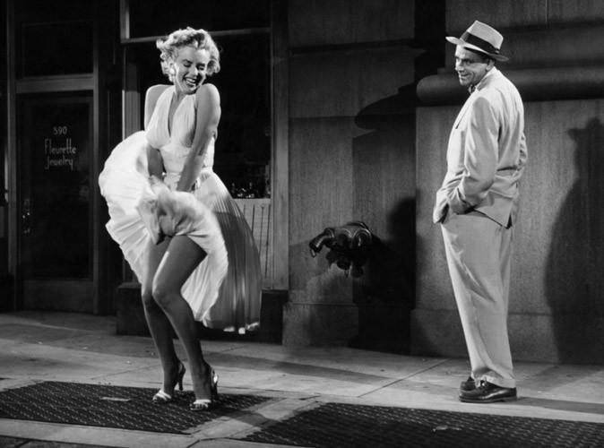 Marilyn Monroe : une robe blanche qui vaut de l'or !