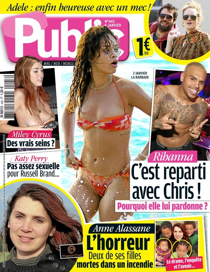Magazine Public : Rihanna en couv !