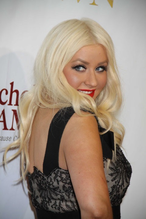 Christina Aguilera à New York, le 1er mai 2011.