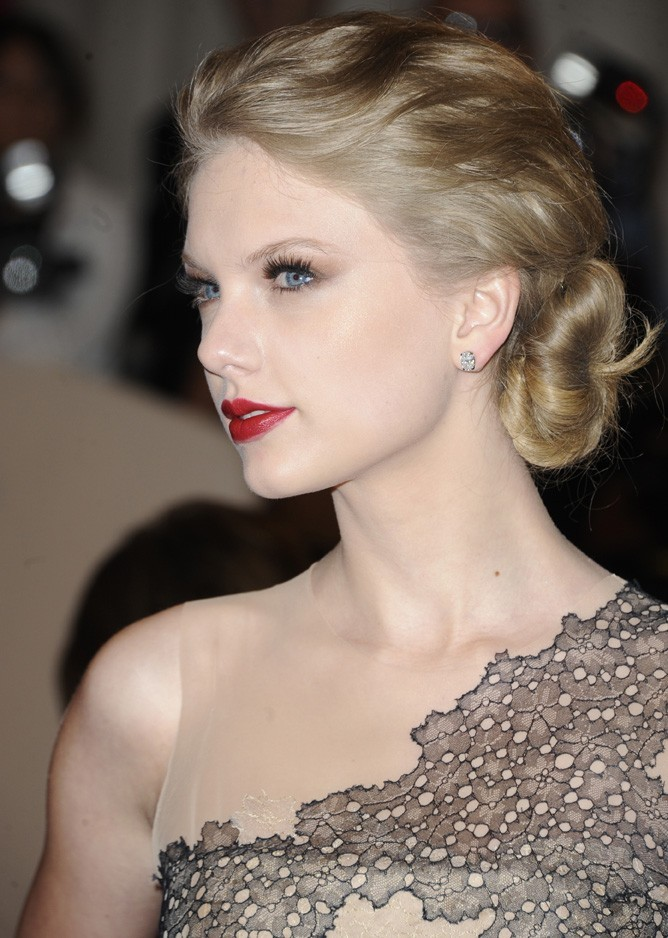 Taylor Swift au Met Ball, le 2 mai 2011 à New York.